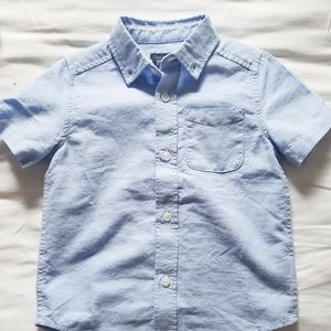Button up tshirt 3T